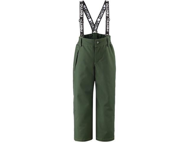Reima Loikka Pantalon D'Hiver Enfant, dark green